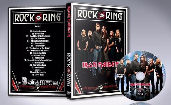 Dvd Iron Maiden - Rock Am Ring 2014