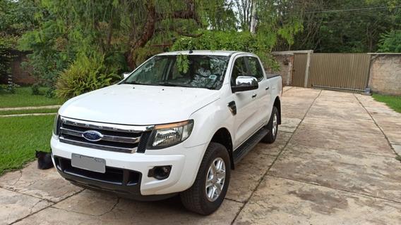 Caminhonete Ford Ranger Xlt 2.5 4x2 Flex 2013 Ipva2019 Pneus