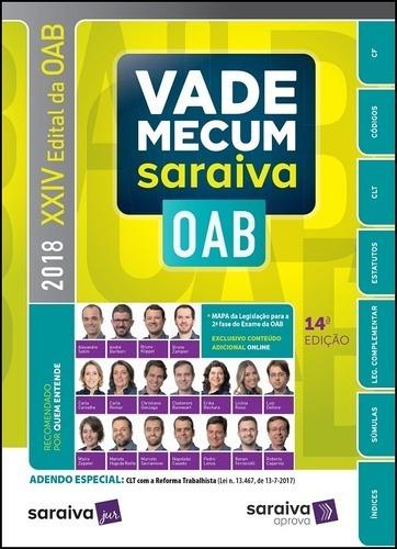 Vade Mecum Saraiva - Oab 2 Fase E Concursos