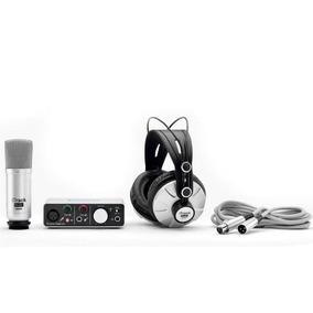 Interface De Áudio Focusrite Itrack Solo Microfone Fone