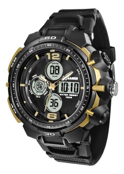 Relógio X-games Masculino Anadigi Xmppa212 Bxpx Dourado