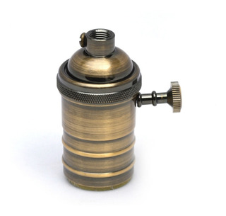 3 Portalamparas Vintage + Lamparas Filamento + Cable