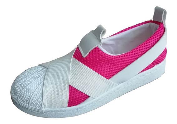 Zapatillas Unisex Sin Cordon, Elastizadas, Urbanas,35 A 41