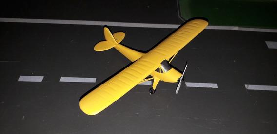 Miniatura De Avião - Paulistinha - Amarelo- Escala 1:72