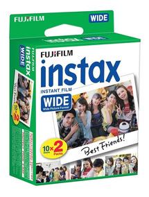 Filme Fujifilm Instax Wide Com 20 Fotos