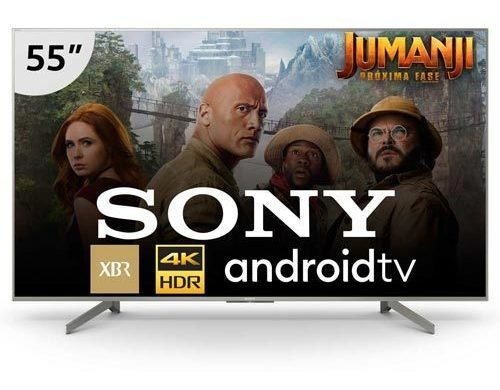 Smart Tv 4k Sony 55 Chromecast Xbr-55x855g