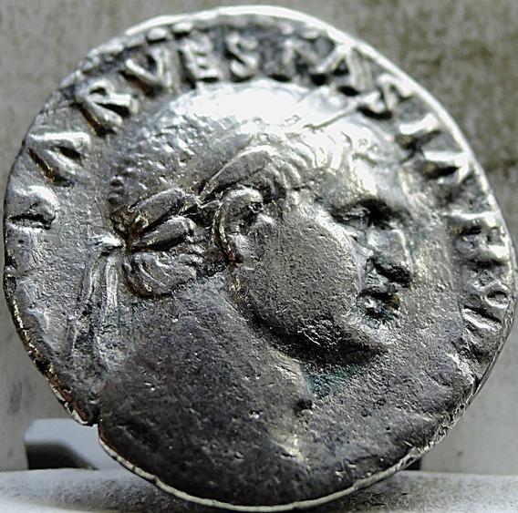 Moeda Antiga Império Romano Histórica Judaea Capta Vespasian
