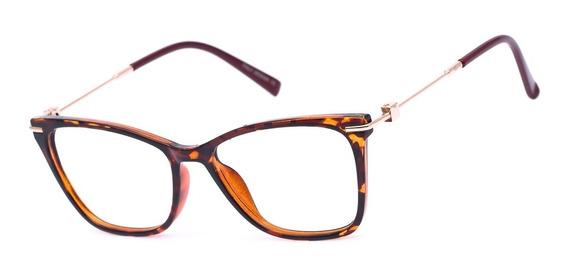 Armação Oculos Ogrife Og 773-c Feminino Com Lente Sem Grau