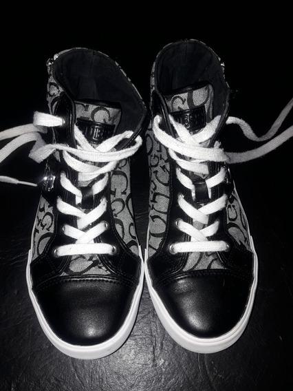 Zapatillas Botitas Guess Mujer Original Buen Estado