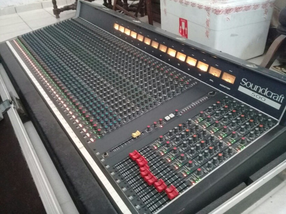 Mesa De Som Soundcrafth 500 40 Canais.