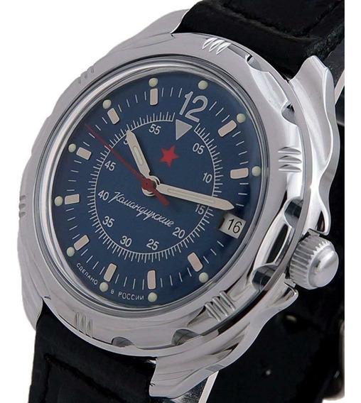 Reloj Vostok Komandirskie Ruso De Cuerda