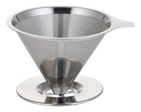 O Filtro De Café Aço Aço Derramar Sobre Chá Do Gotejamen