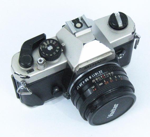 Máquina Fotográfica, Mirage. Profissional, Analógica, Usada
