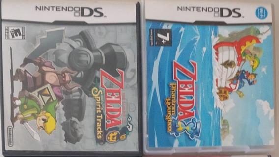 Zelda Spirit Tracks + Zelda Phantom Hourglass