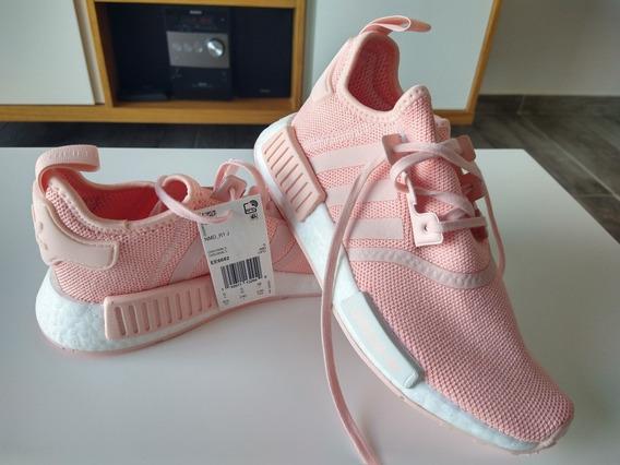 Zapatillas adidas Nmd R1 J. Color Rosa . Talle 5.5 Us
