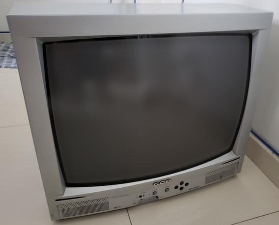 Tv 20 Polegadas Cce - Tubo / Leia A Descrição