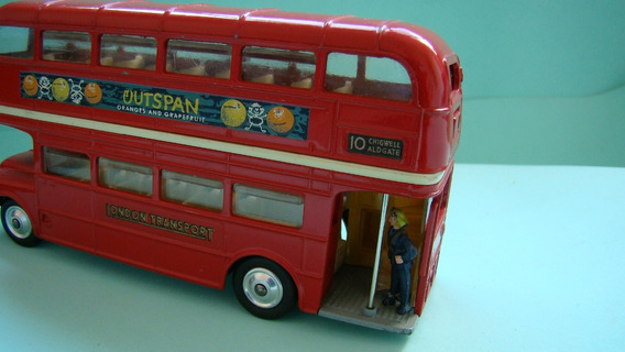 Corgi 468 Onibus Ingles London Routemaster 1/43 Solido Dinky