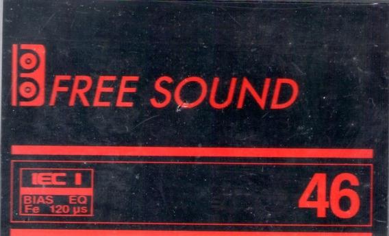 Fita Cassete Free Sound C-46 - Lacrada