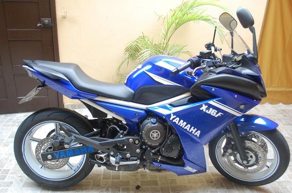 Xj6f Racing Blue - Faço Financiamento!