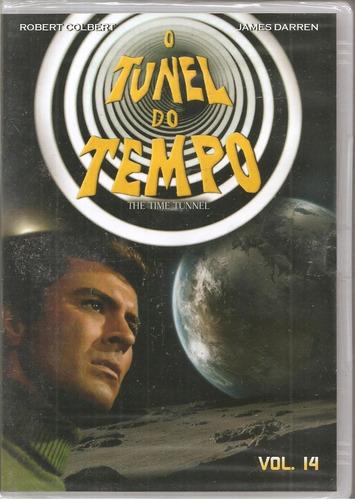 Dvd O Tunel Do Tempo Vol. 14 - Robert Colbert, James Darren