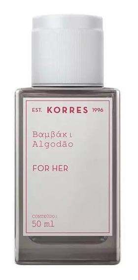 Algodão Korres Eau De Cologne - Perfume Feminino 50ml