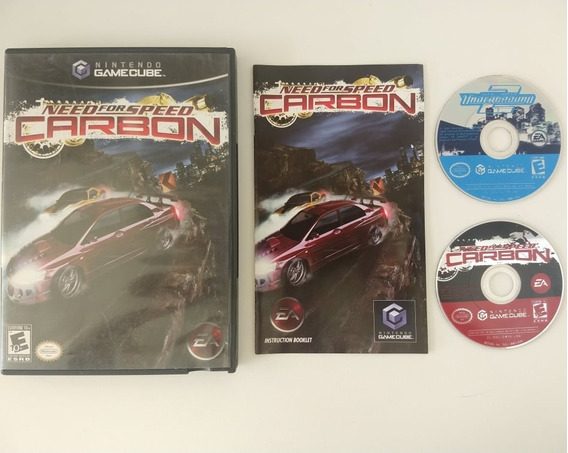 Need For Speed Carbon E Underground 2 Americano Game Cube