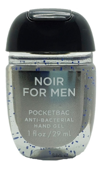 Antibacterial Hand Gel Bath & Body Works Noir For Men 29 Ml