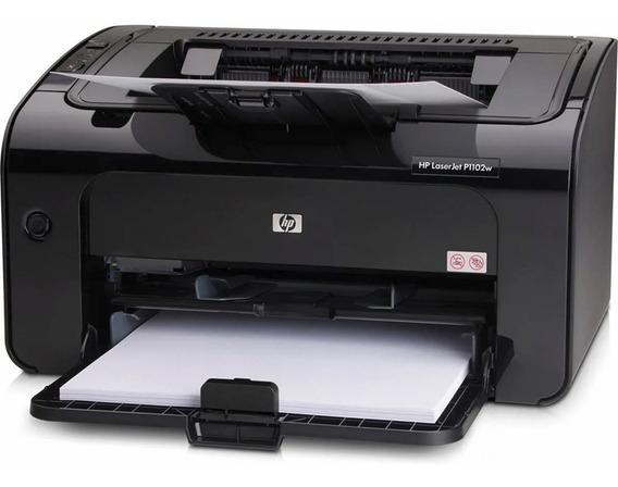 Impressora Hp Laserjet P1102w Revisada 100% Ok + Toner
