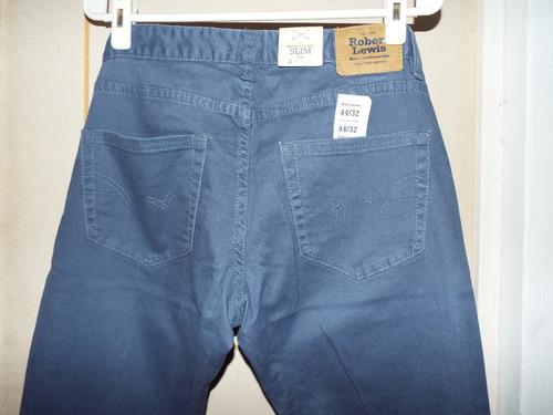 Pantalon Jean Drill Robert Lewis Hombre T 30 32 Nuevo Mercado Libre