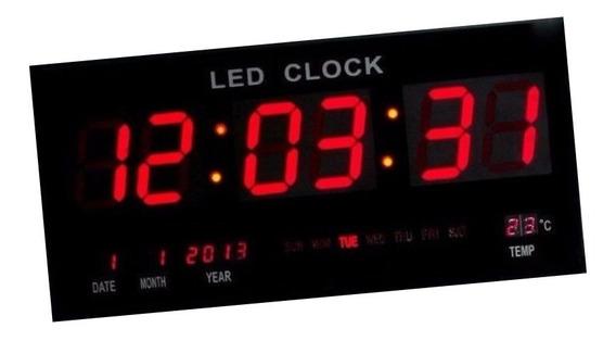 Relógio Led Gigante P/ Academia Alditorio 46 Cm