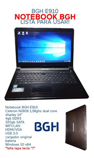 Notebook Bgh E910