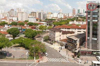 Apartamento Com 3 Dormitórios, 1 Suite, Dependencia Completa, Salão De Festas, Jogos E Ginastica, À Venda, 95 M² Por R$ 430.000 - Macuco - Santos/sp - Ap8719
