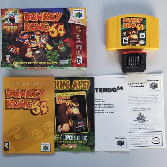 Donkey Kong 64 Nintendo 64 N64 Original