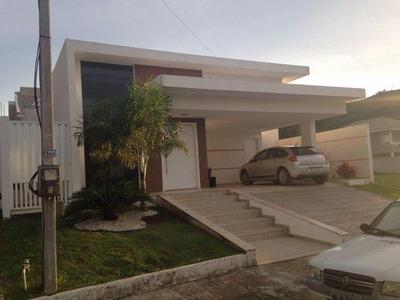 Excelente Casa Térrea Em Condomínio Fechado - 0114
