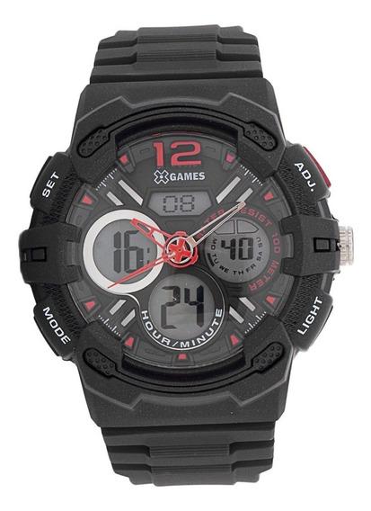 Relógio X-games Masculino - Xmppa124 P2px - ( Nfe )
