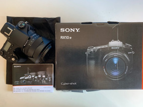 Câmera Sony Cyber-shop Rx10 Iv F2.4-f4/24-600mm+1 Bateria