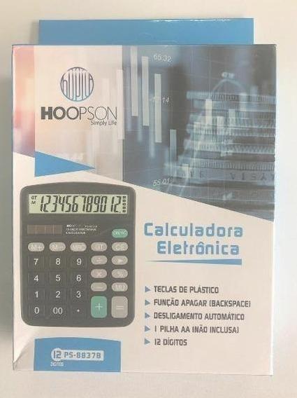 Calculadora 12 Digitos Hoopson