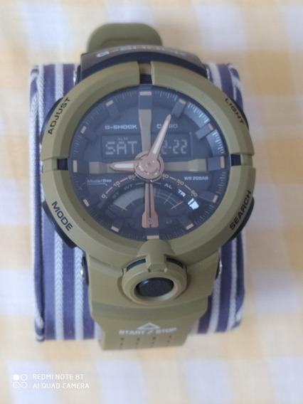 Relógio Analógico Digital G-shock Ga-500-1adr 100% Original