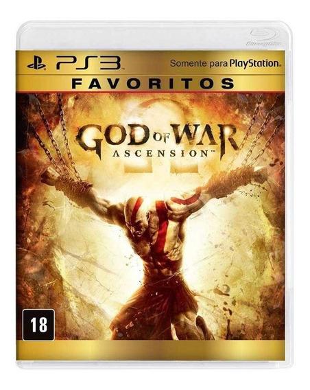 God Of War Ascension Ps3 Mídia Física Novo Lacrado