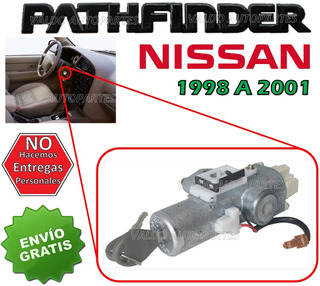 98-01 Nissan Pathfinder Switch De Encendido Con Llaves
