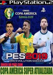 Pes 2019 Copa América + Pes 2020 Atualizado (2 Jogos)