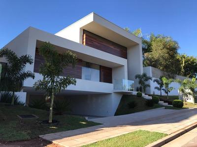 Sobrado Em Residencial Alphaville Flamboyant, Goiânia/go De 495m² 5 Quartos À Venda Por R$ 3.300.000,00 - So239053