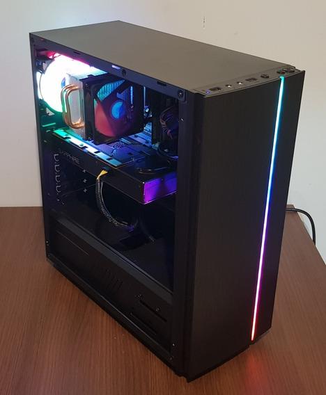 Pc Gamer / Rgb / I5 / 16gb Ram / Rx 470 / Ssd 120 / Hd 500