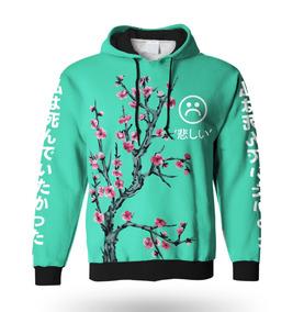 Moletom Sad Boys Tumblr Floral Fashion Moda Masculino 2018