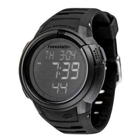 Relógio Freestyle Mariner Preto Silicone Importado Original