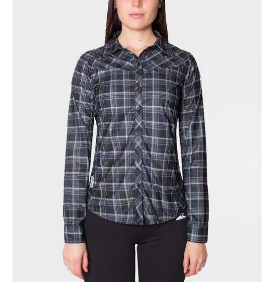 Camisa Montagne Iguacel Plaid Mujer . Super Oferta H/agotar