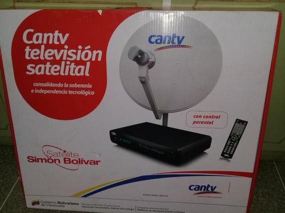 Cantv Television Satelital Kit Completo Antena+decodificador