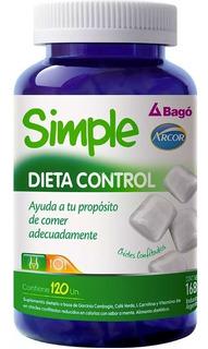 Simple Dieta Control X 120 Chicles