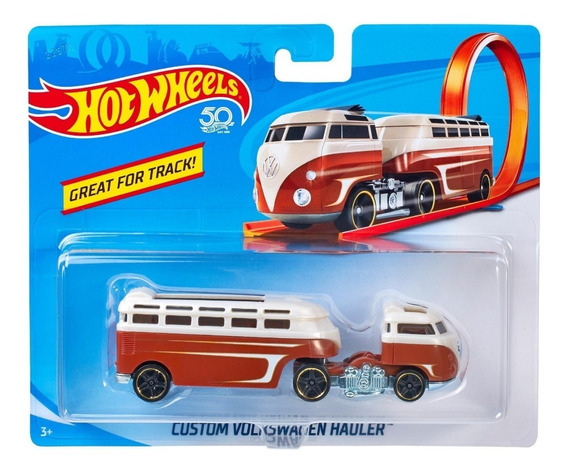 Hot Wheels Caminhão Trucks - Custom Volkswagen Hauler - Bfm6