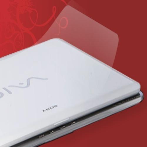 Imagem 1 de 4 de Skin Película Protetora Transparente Pra Notebook, Tablet